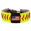 American Flag Bracelet Classic Softball