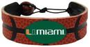 Miami Hurricanes Classic Basketball Bracelet