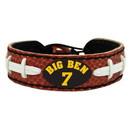 Pittsburgh Steelers Bracelet Classic Jersey Ben Roethlisberger Design