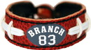 New England Patriots Bracelet Classic Jersey Deion Branch Design