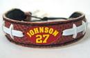 Kansas City Chiefs Larry Johnson Classic Football Jersey Bracelet