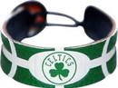 Boston Celtics Team Color Basketball Bracelet