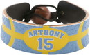 Denver Nuggets Bracelet Team Color Basketball Carmelo Anthony