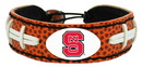 North Carolina State Wolfpack Classic Football Bracelet