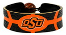 Oklahoma State Cowboys Team Color Basketball Bracelet