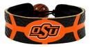 Oklahoma State Cowboys Team Color Basketball Bracelet