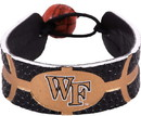 Wake Forest Demon Deacons Bracelet Team Color Basketball