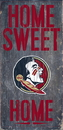 Florida State Seminoles Wood Sign - Home Sweet Home 6