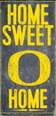 Oregon Ducks Wood Sign - Home Sweet Home 6
