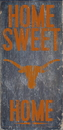 Texas Longhorns Wood Sign - Home Sweet Home 6