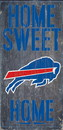 Buffalo Bills Wood Sign - Home Sweet Home 6
