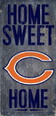 Chicago Bears Wood Sign - Home Sweet Home 6