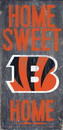 Cincinnati Bengals Wood Sign - Home Sweet Home 6