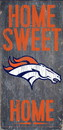 Denver Broncos Wood Sign - Home Sweet Home 6