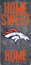 Denver Broncos Wood Sign - Home Sweet Home 6