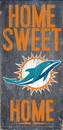 Miami Dolphins Wood Sign - Home Sweet Home 6