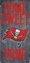 Tampa Bay Buccaneers Wood Sign - Home Sweet Home 6