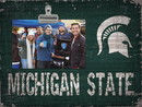 Michigan State Spartans Clip Frame