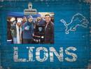 Detroit Lions Clip Frame