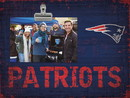 New England Patriots Clip Frame