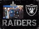Oakland Raiders Clip Frame