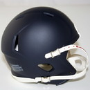 Riddell Speed Blank Mini Football Helmet Shell - Matte Navy