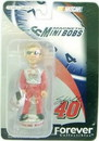 Sterling Marlin #40 Forever Collectibles Mini Bobblehead