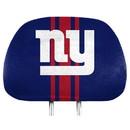 New York Giants Headrest Covers Full Printed Style
