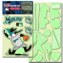 Miami Marlins Decal Lil Buddy Glow in the Dark Kit