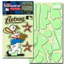 Houston Astros Decal Lil Buddy Glow in the Dark Kit