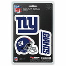 New York Giants Decal Die Cut Team 3 Pack