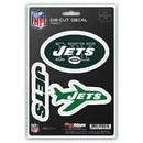 New York Jets Decal Die Cut Team 3 Pack