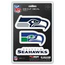 Seattle Seahawks Decal Die Cut Team 3 Pack