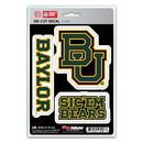 Baylor Bears Decal Die Cut Team 3 Pack
