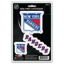 New York Rangers Decal Die Cut Team 3 Pack