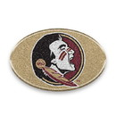 Florida State Seminoles Auto Emblem - Oval Color Bling