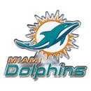 Miami Dolphins Auto Emblem Color Alternate Logo