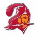 Tampa Bay Buccaneers Auto Emblem Color Alternate Logo
