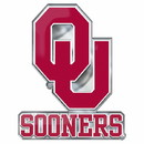 Oklahoma Sooners Auto Emblem Color Alternate Logo