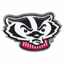 Wisconsin Badgers Auto Emblem Color Alternate Logo