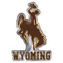 Wyoming Cowboys Auto Emblem Color Alternate Logo - Special Order