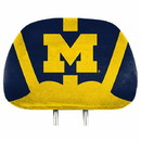 Michigan Wolverines Headrest Covers Full Printed Style