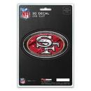 San Francisco 49ers Decal 5x8 Die Cut 3D Logo Design