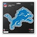 Detroit Lions Decal 8x8 Die Cut