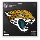 Jacksonville Jaguars Decal 8x8 Die Cut