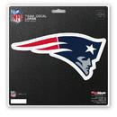 New England Patriots Decal 8x8 Die Cut