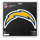 Los Angeles Chargers Decal 8x8 Die Cut