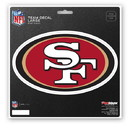 San Francisco 49ers Decal 8x8 Die Cut