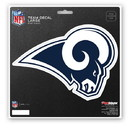 Los Angeles Rams Decal 8x8 Die Cut