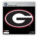 Georgia Bulldogs Decal 8x8 Die Cut